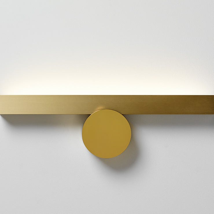 Cvl Luminaires Gold Calee Wall Light Haute Living