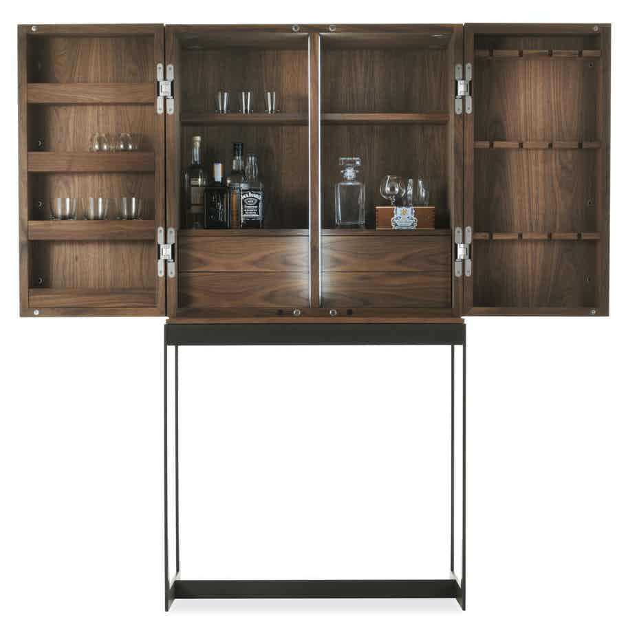 Riva-1920-cambusa-fly-reserve-cabinet-open