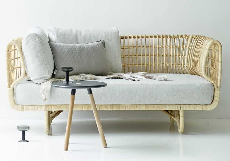 Cane line 2 seater sofa institu haute living