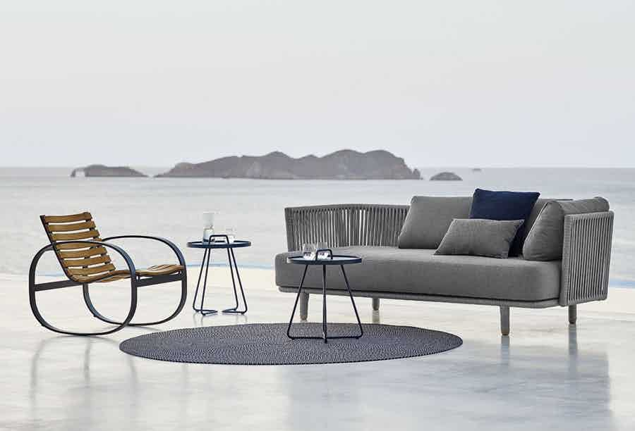 Cane line moments sofa institu haute living