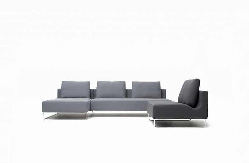 Bensen Grey Canyon Modular Sofa