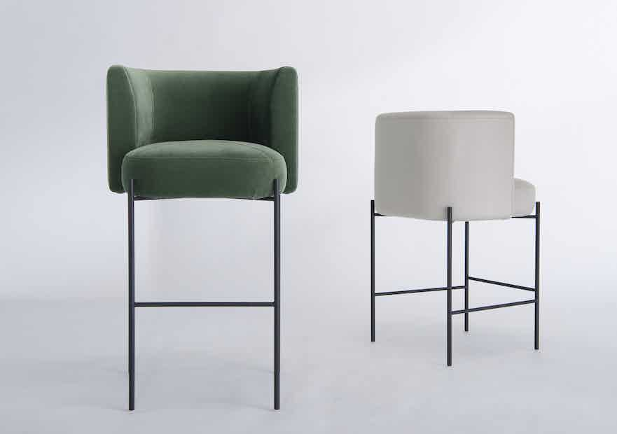 Capper stool by phase design neocon haute living
