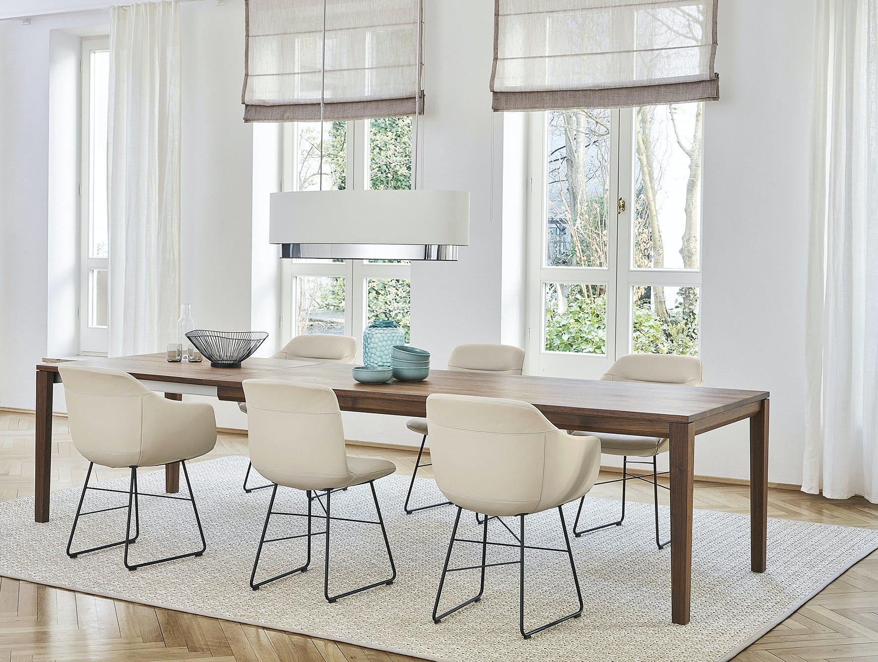 Jab Anstoetz Cara Dining Chair Sled Base Insitu Haute Living
