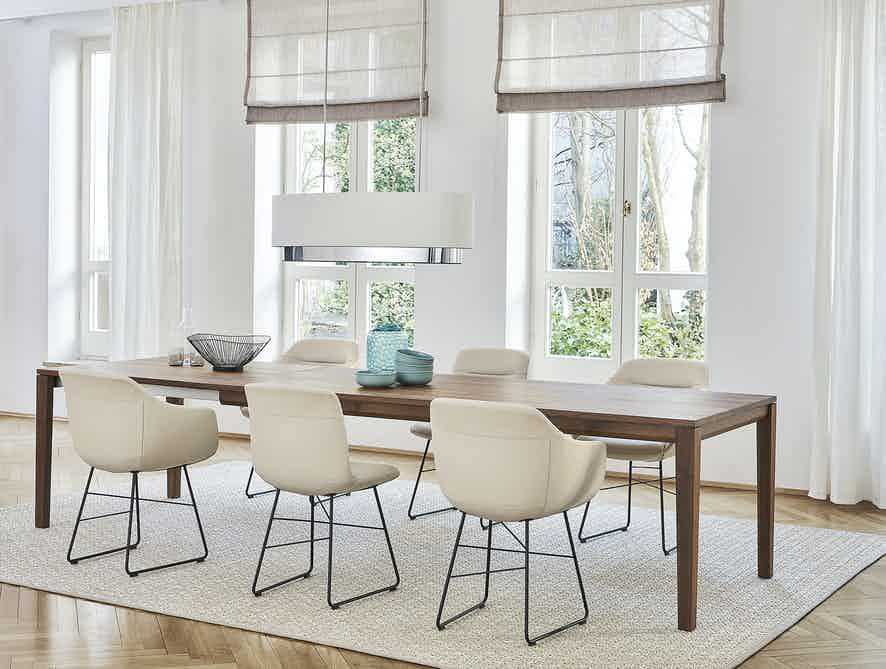Jab Anstoetz Cara Dining Chair Sled Base Insitu Haute Living