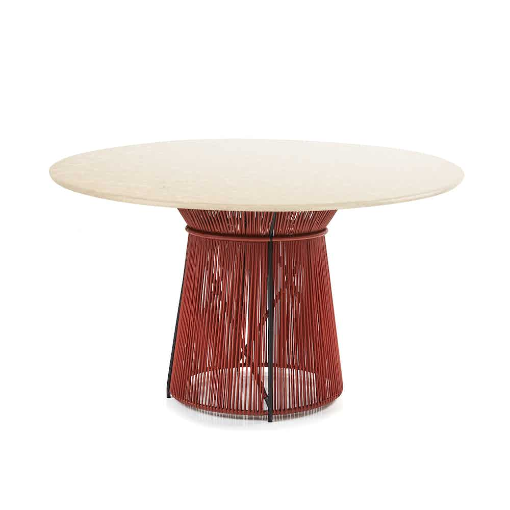Ames furniture design caribe chic dining table haute living