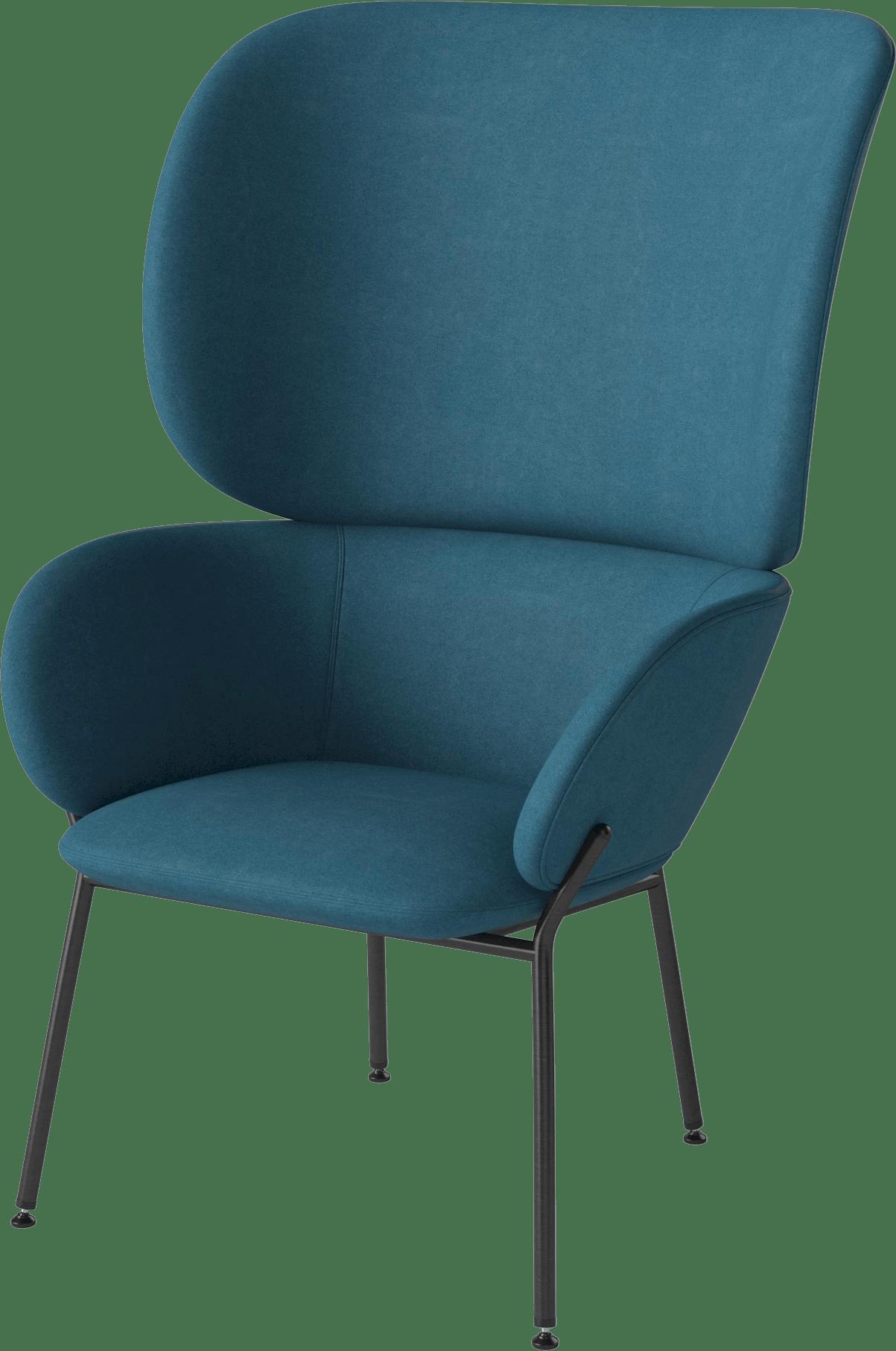 bolia blue carmen armchair haute living