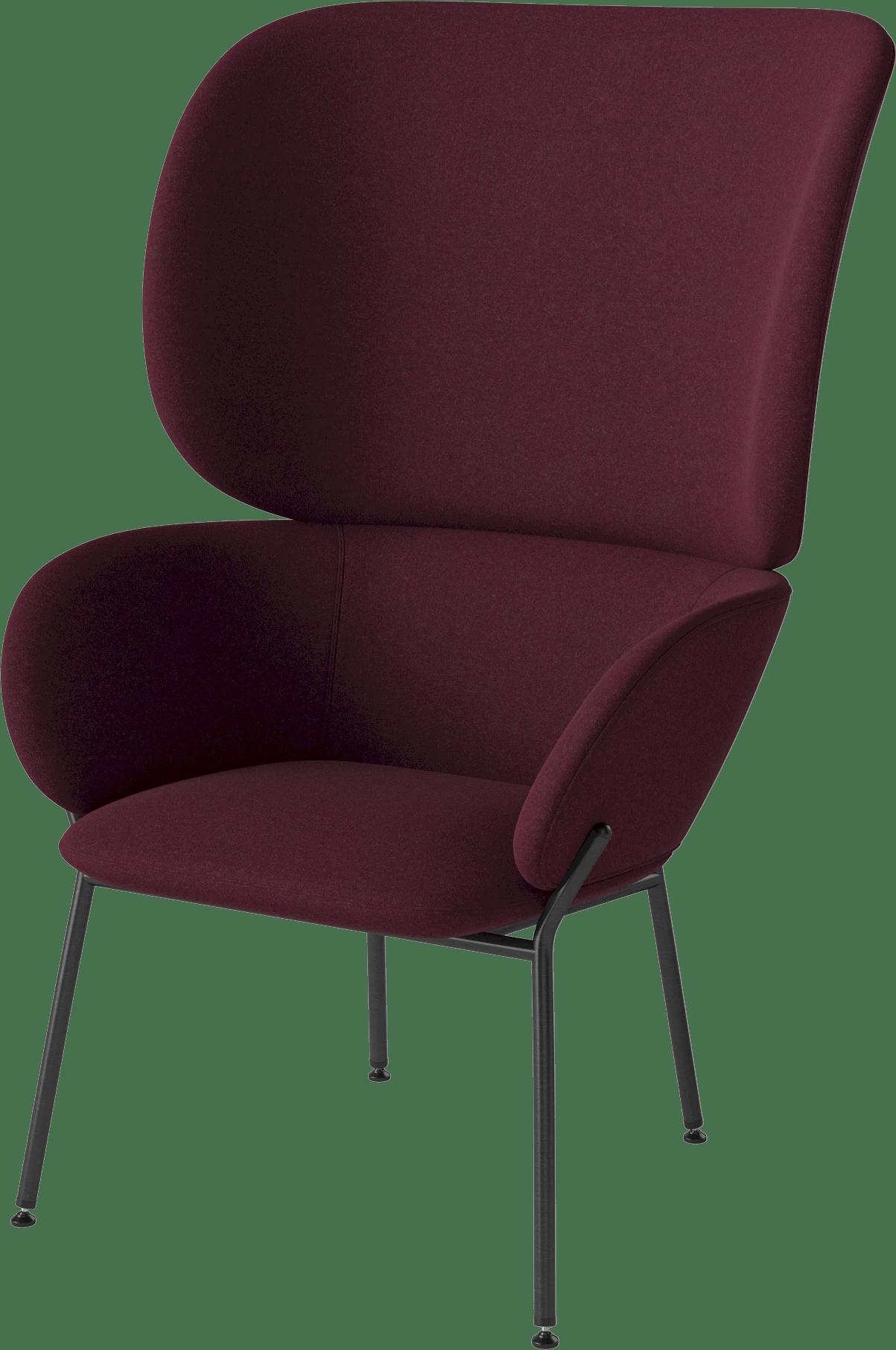 bolia red carmen armchair haute living