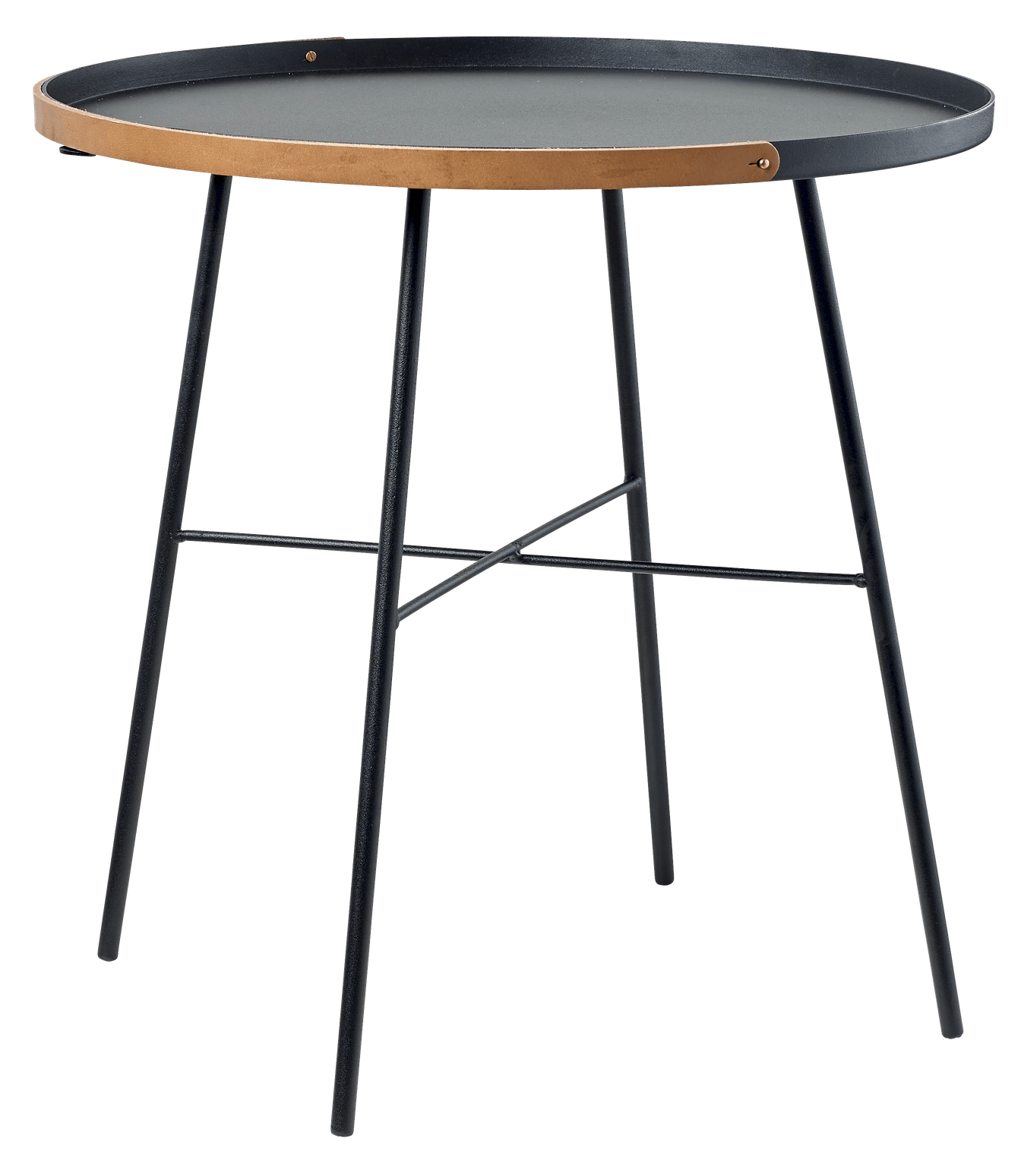 bolia carry on side table black haute living