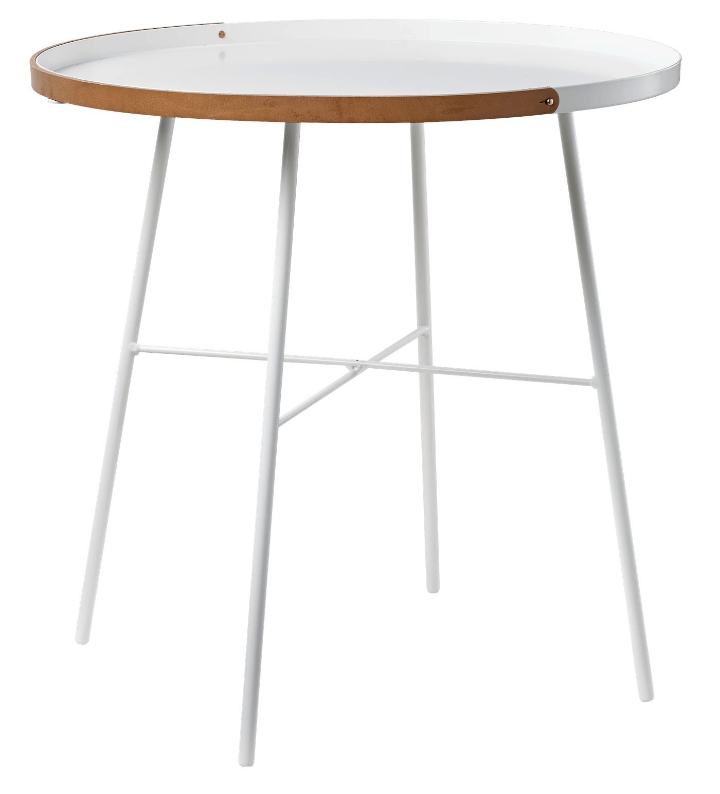 bolia carry on side table white haute living