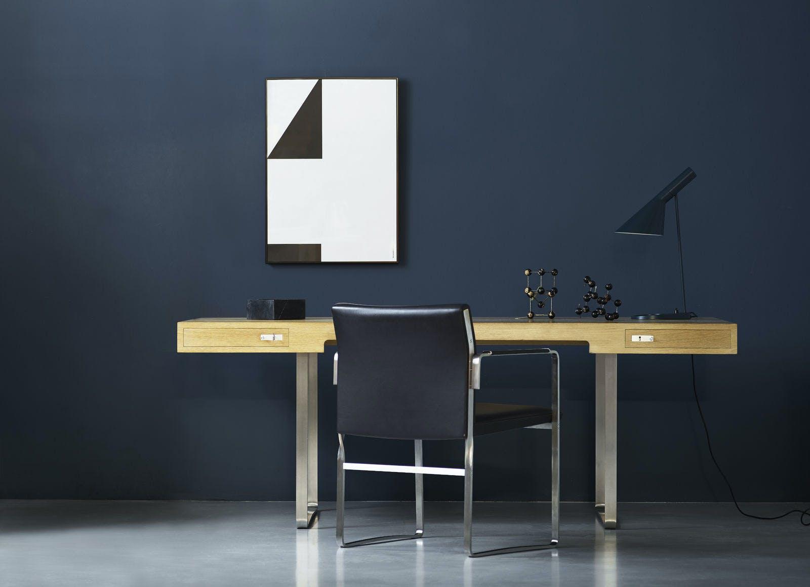 Wegner Ch110 Desk Oak Oil Ch111 Chair Thor301 1600X1600 1