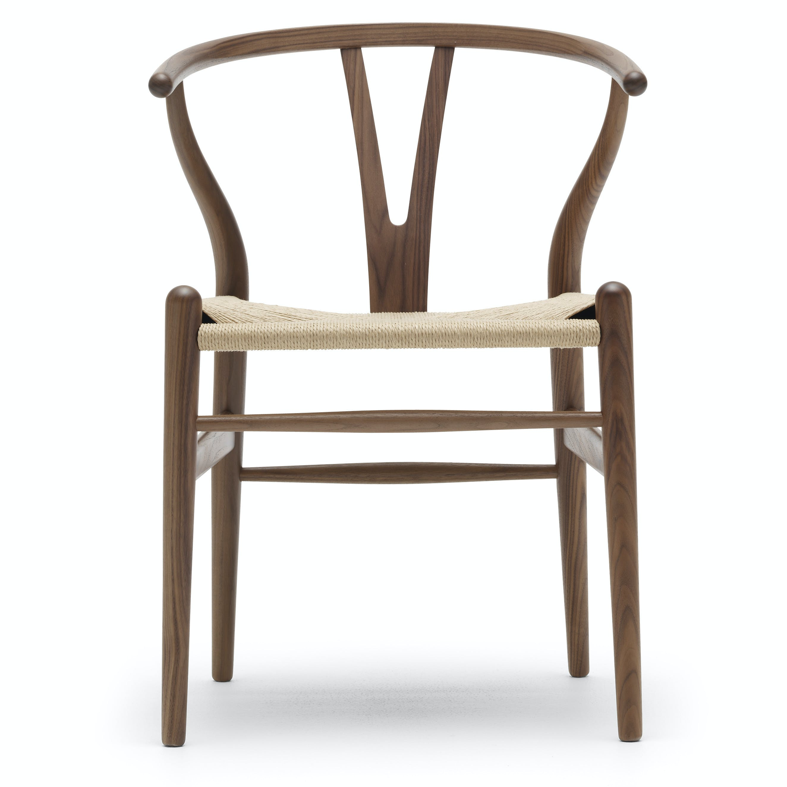 Carl-hansen-son-walnut-front-ch24-haute-living