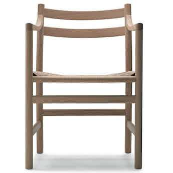 Wegner-ch46-chair-oak-front-carl-hansen-and-son