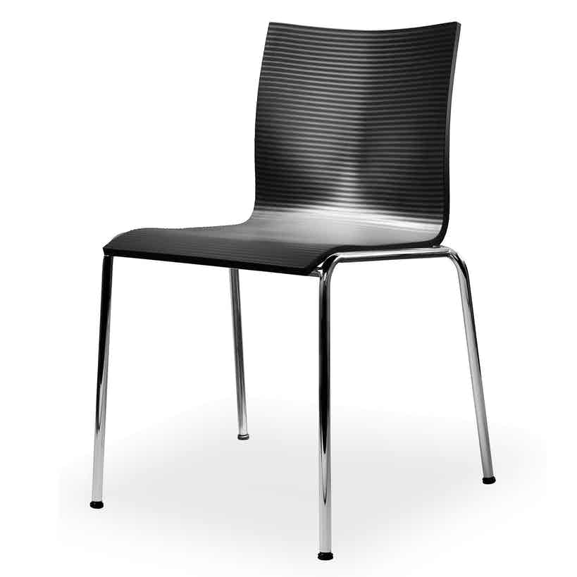 Engelbrechts chairik xl 121 chair black pur haute living