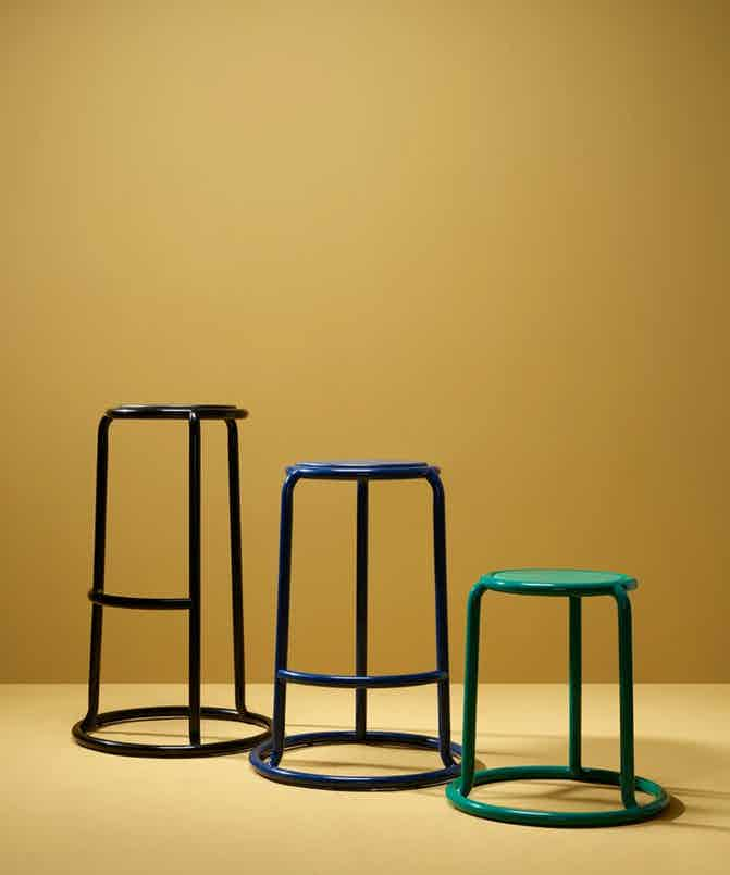 Matter made champ bar stool trio haute living