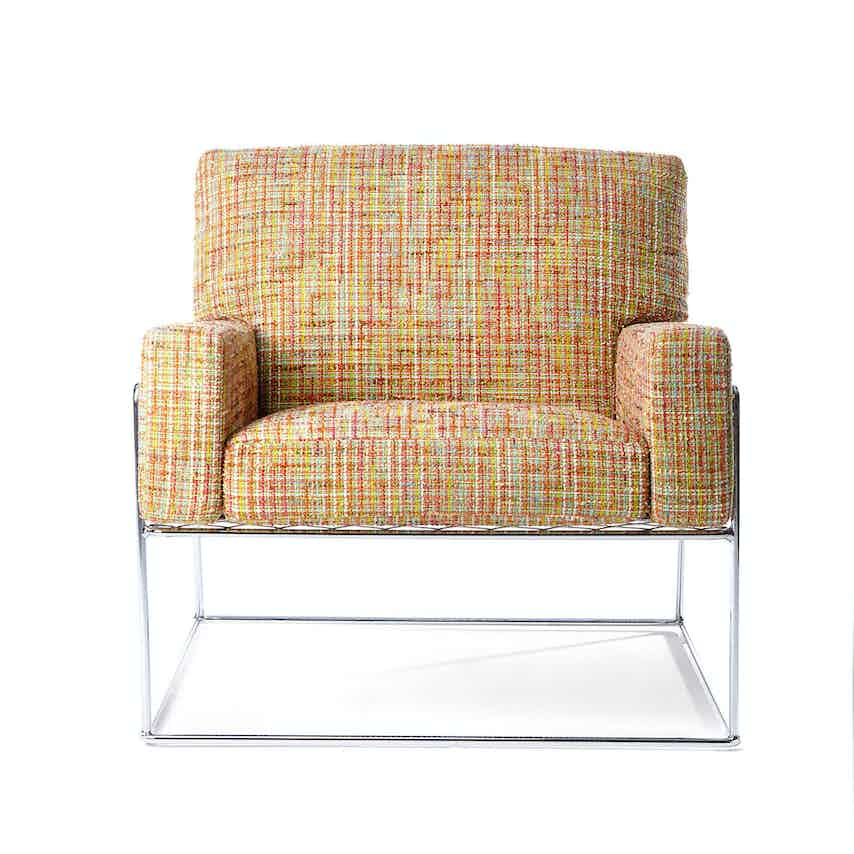 Moooi charles chair front haute living