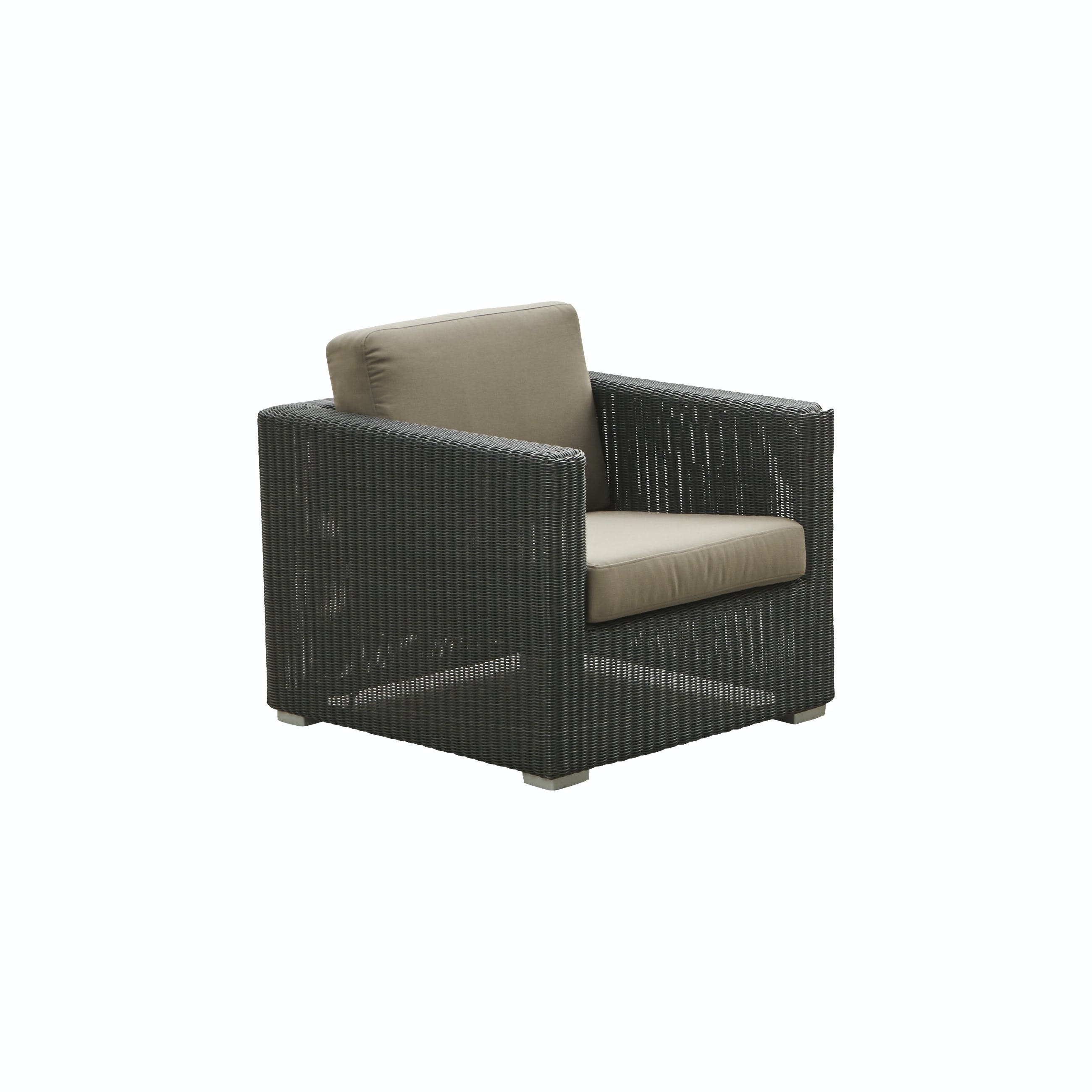 Chester Lounge Chair Graphite Taupe Y36