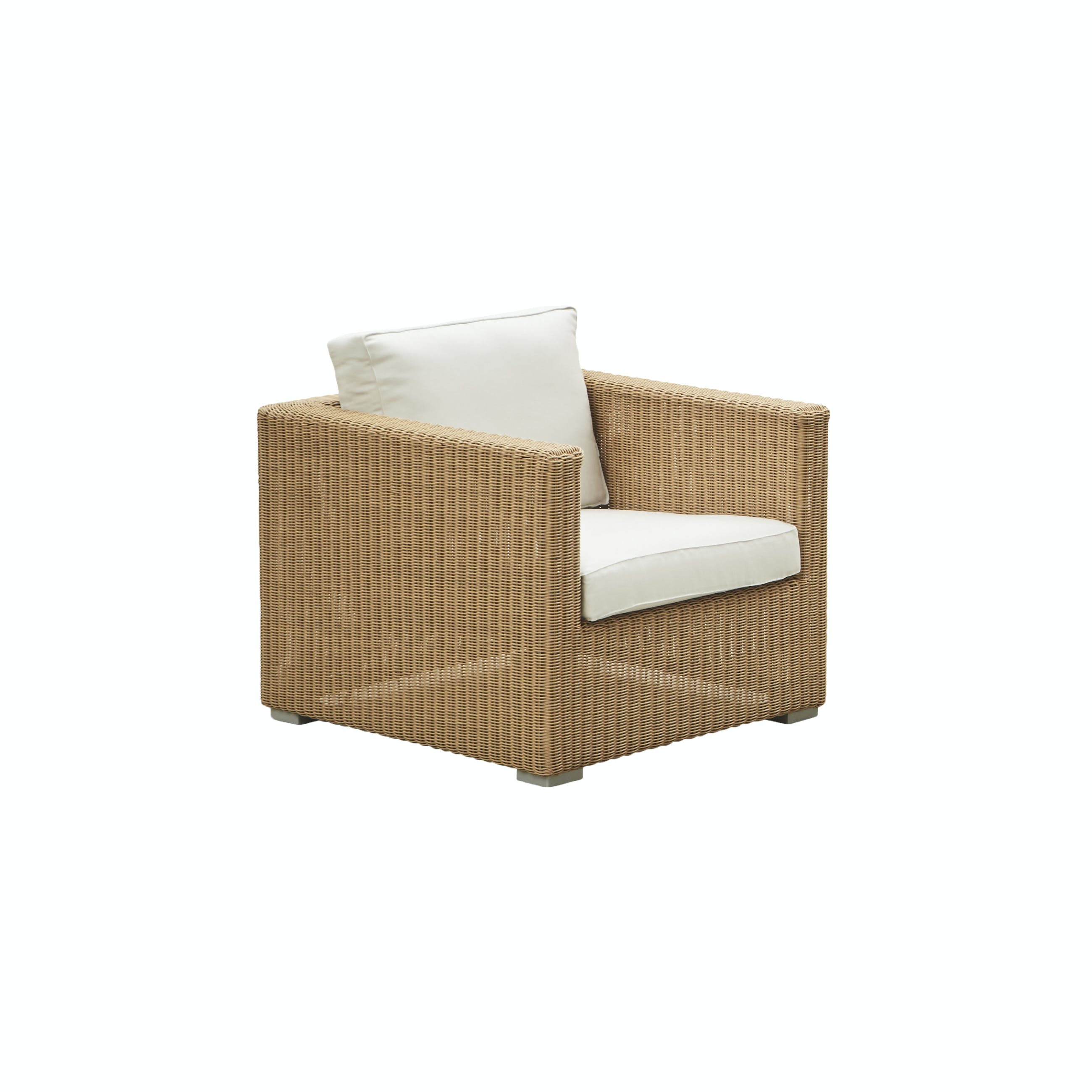 Chester Lounge Chair Natural White Ys94