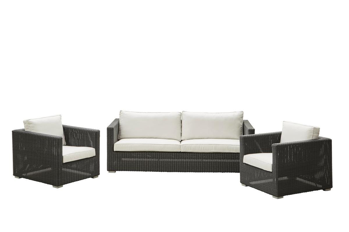 Chester Sofa Lounge Chair Graphite White Ys94 1200Px