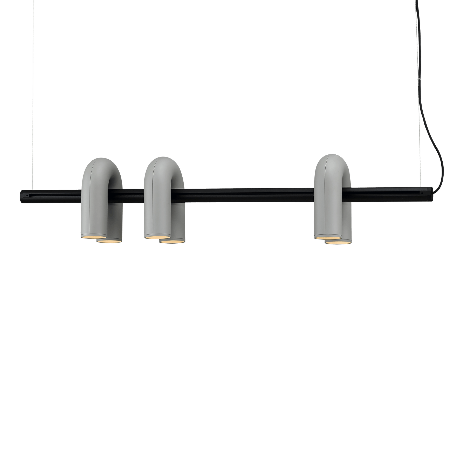 Ago lighting cirkus track grey haute living
