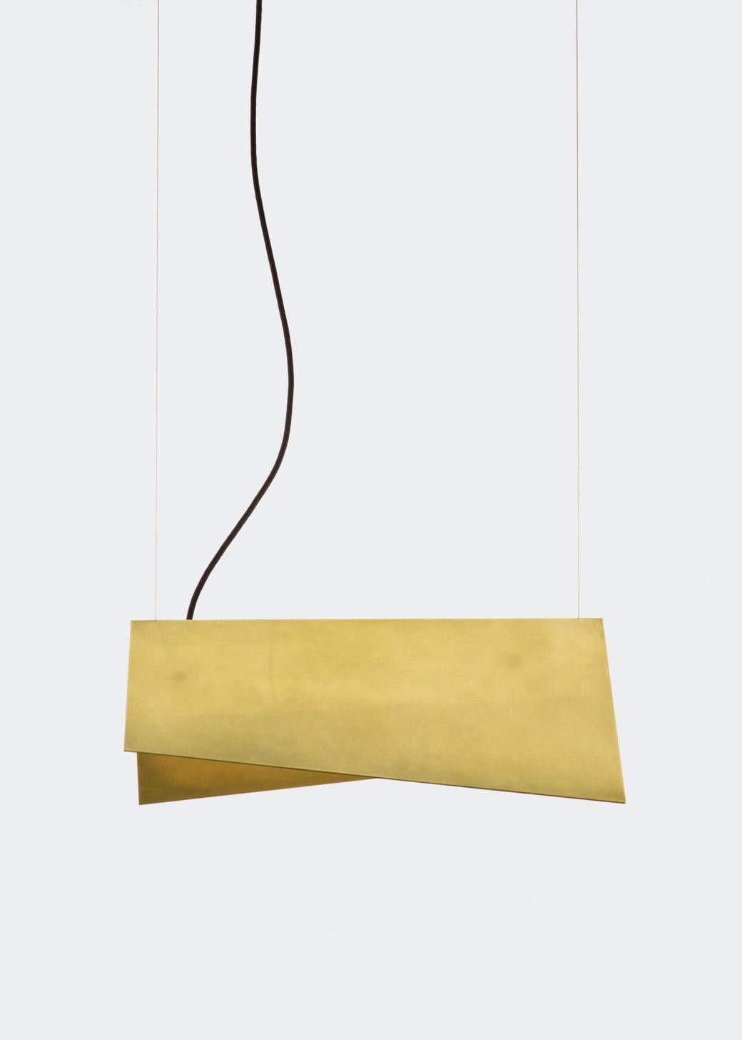 lambert & fils clark suspension hanging light haute living