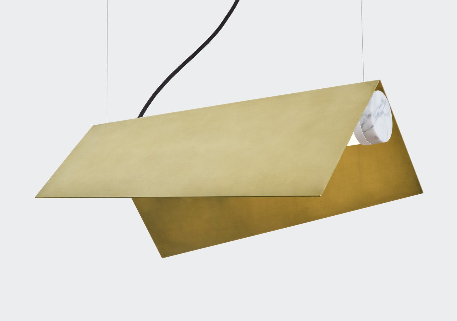 lambert & fils clark suspension hanging lamp detail haute living