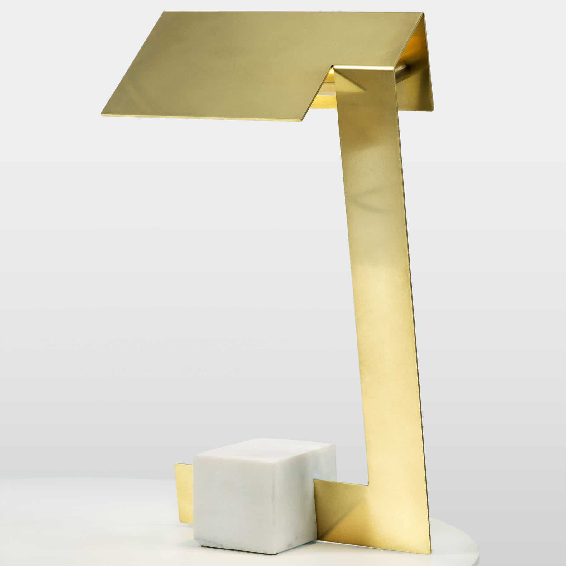 lambert et fils clark table lamp haute living