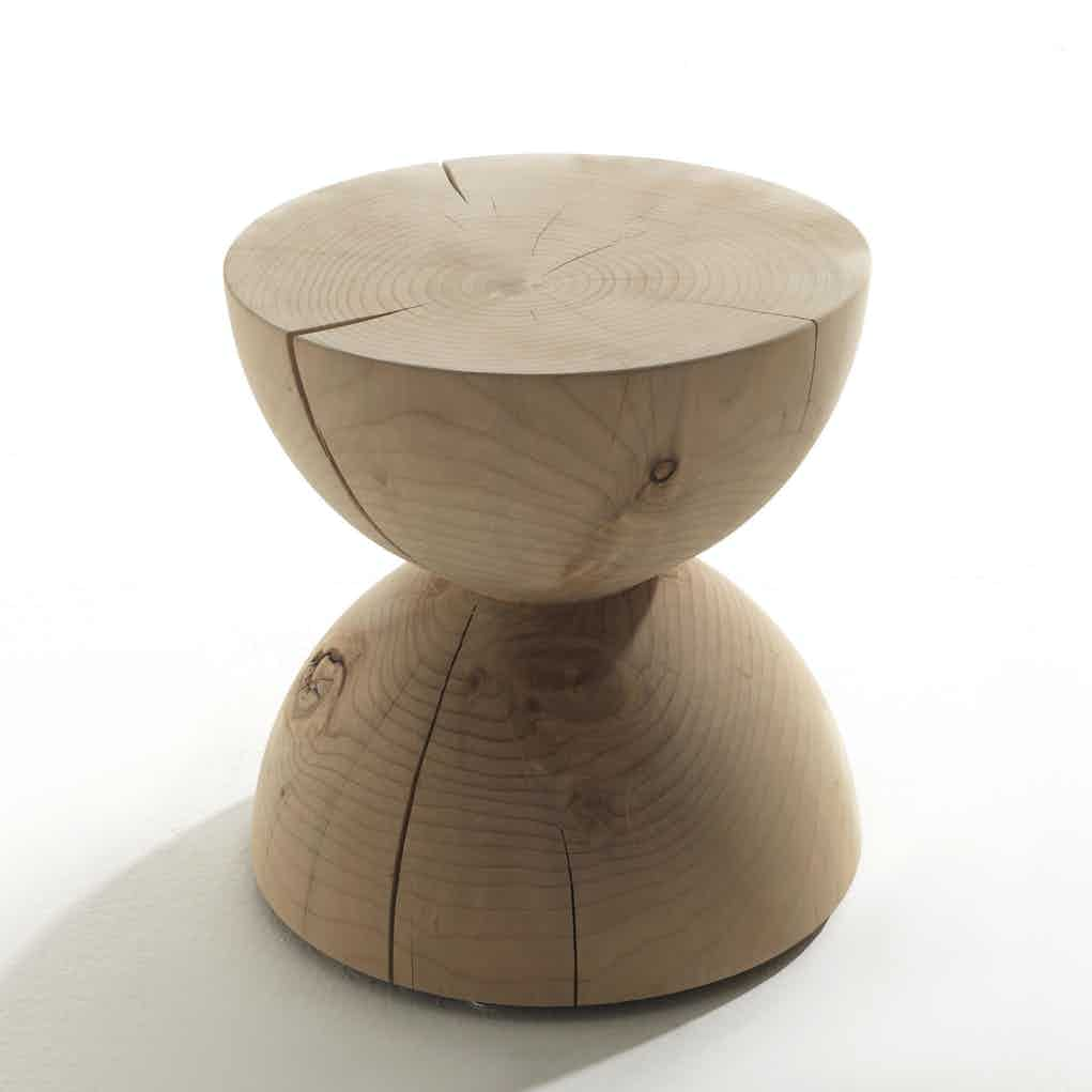 Riva 1920 Clessidra Stool Shadow