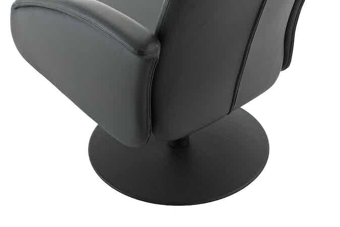 Jab Anstoetz Black Base Cliff Chair Haute Living