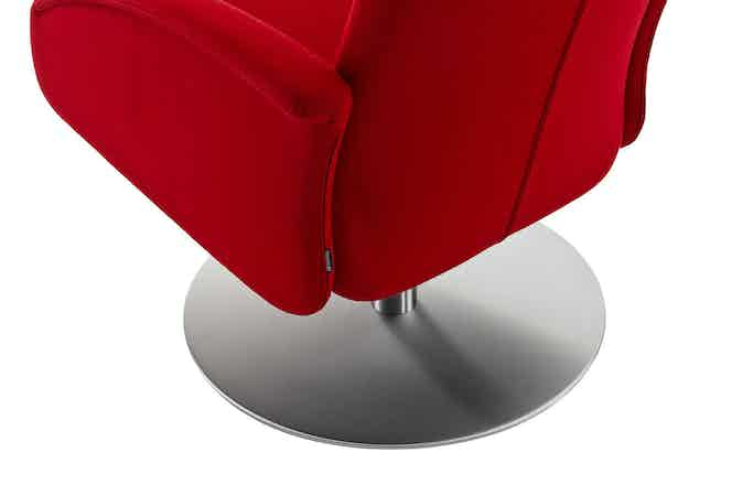 Jab Anstoetz Cliff Armchair Round Base Haute Living