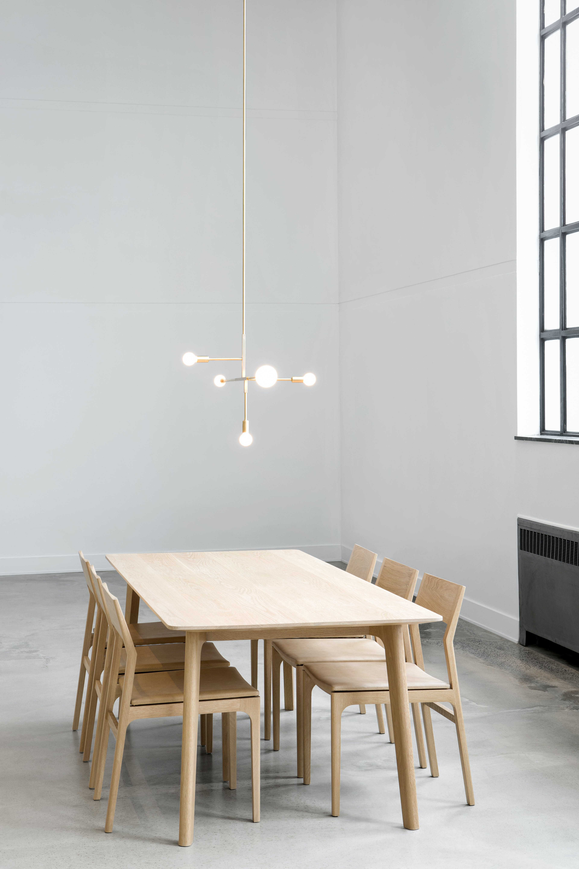 lambert & fils cliff suspension hanging light insitu haute living