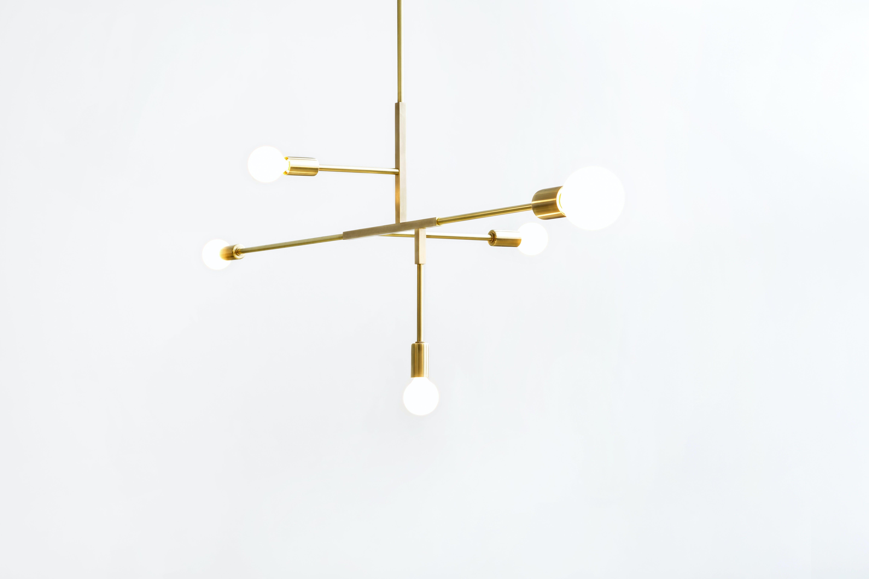 lambert & fils cliff suspension hanging light haute living