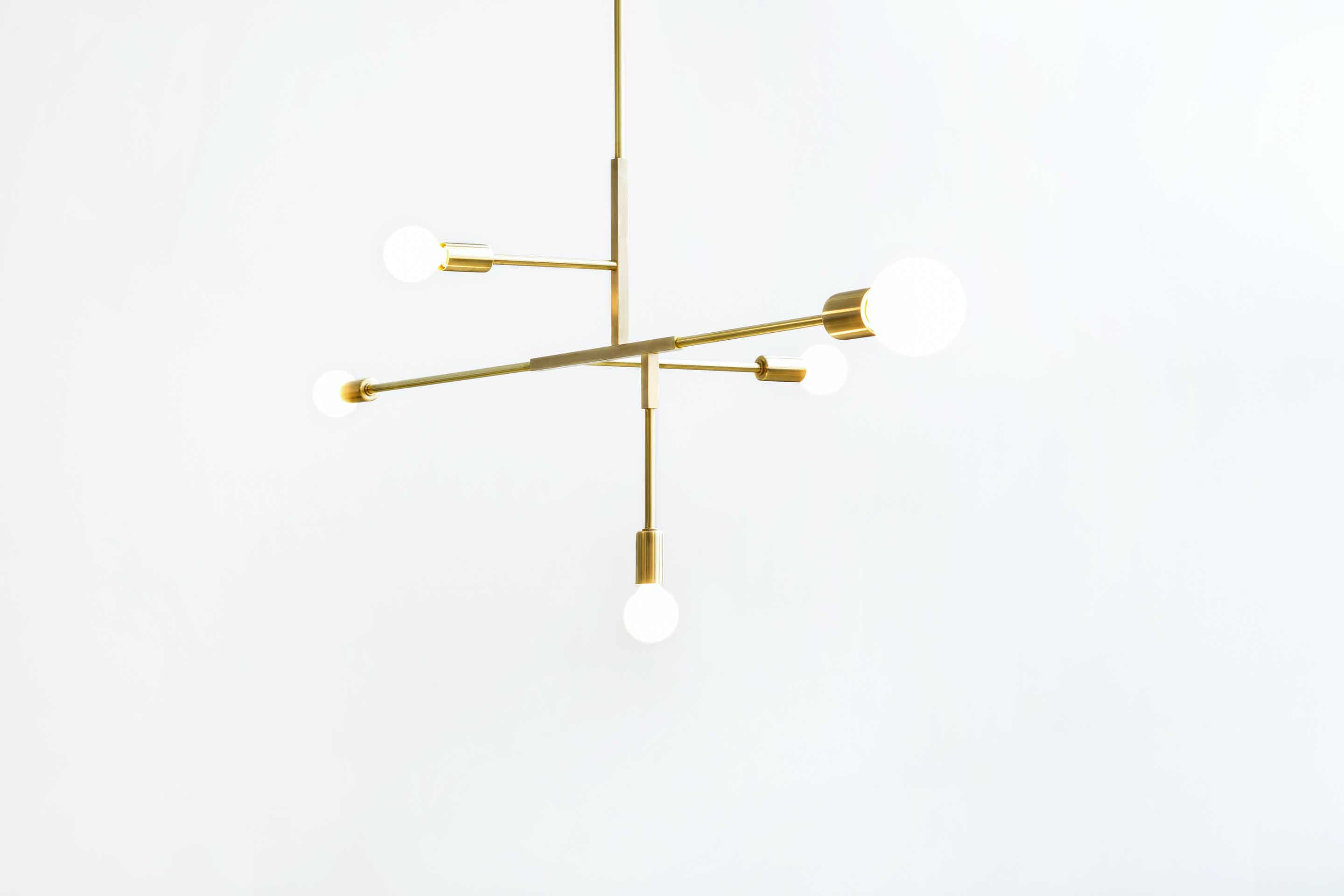 lambert & fils cliff suspension hanging light haute living