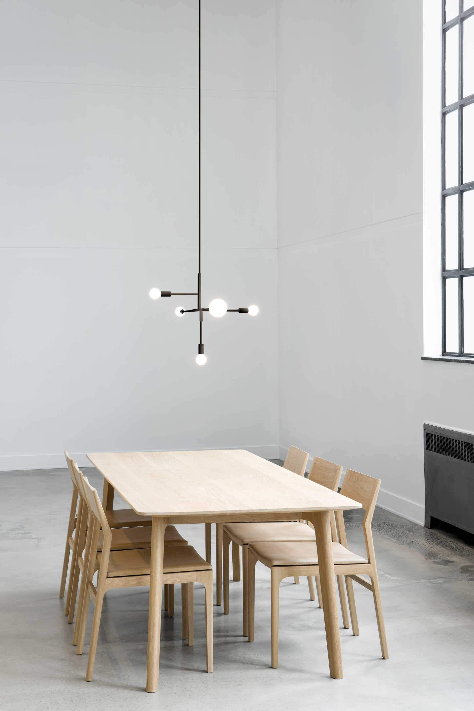 lambert et fils black cliff suspension lamp insitu haute living