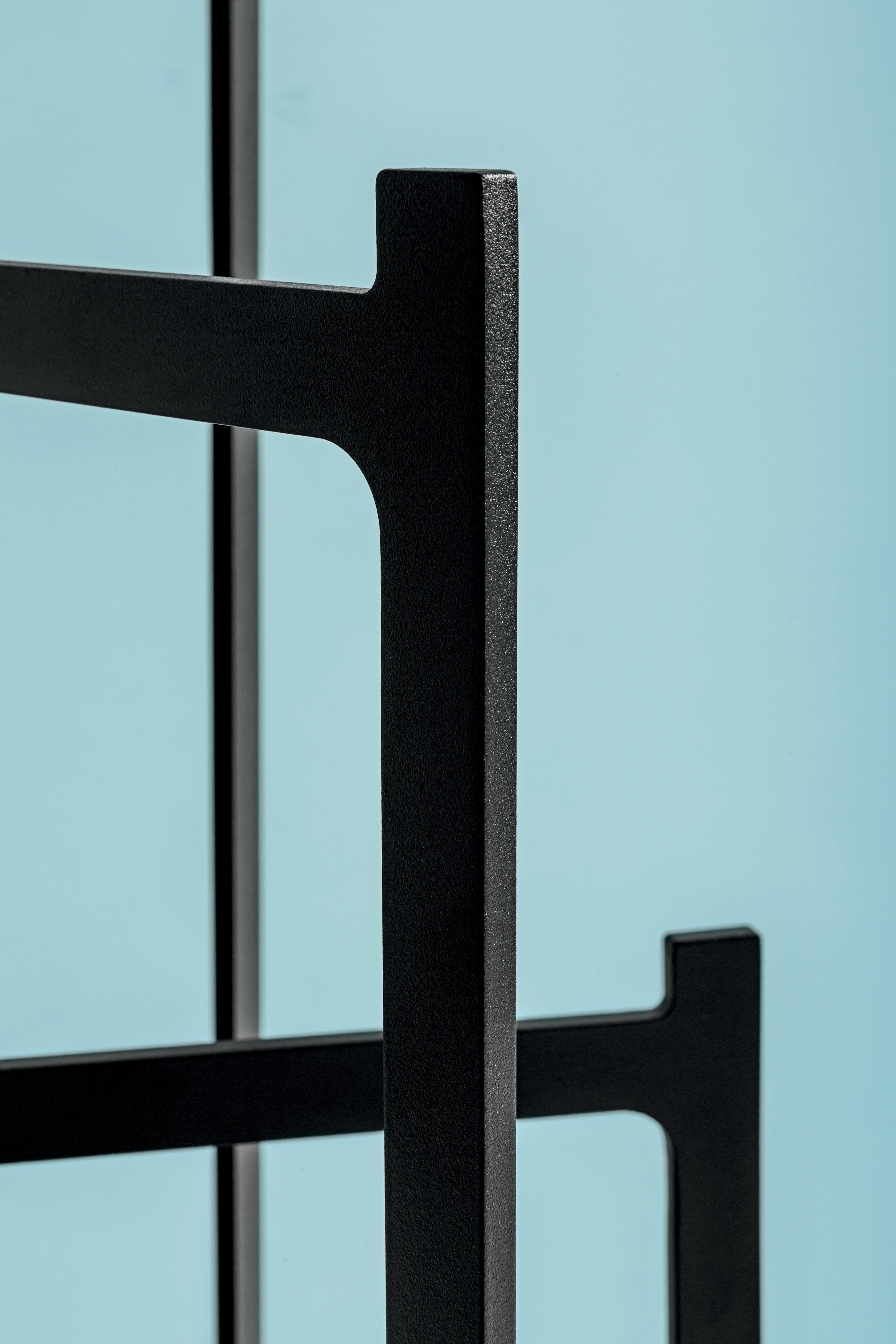 Discipline Black Clip Coat Hanger Detail Haute Living