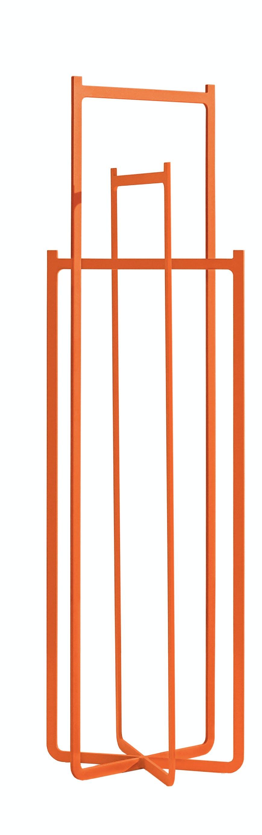 Discipline Orange Clip Coat Hanger Haute Living