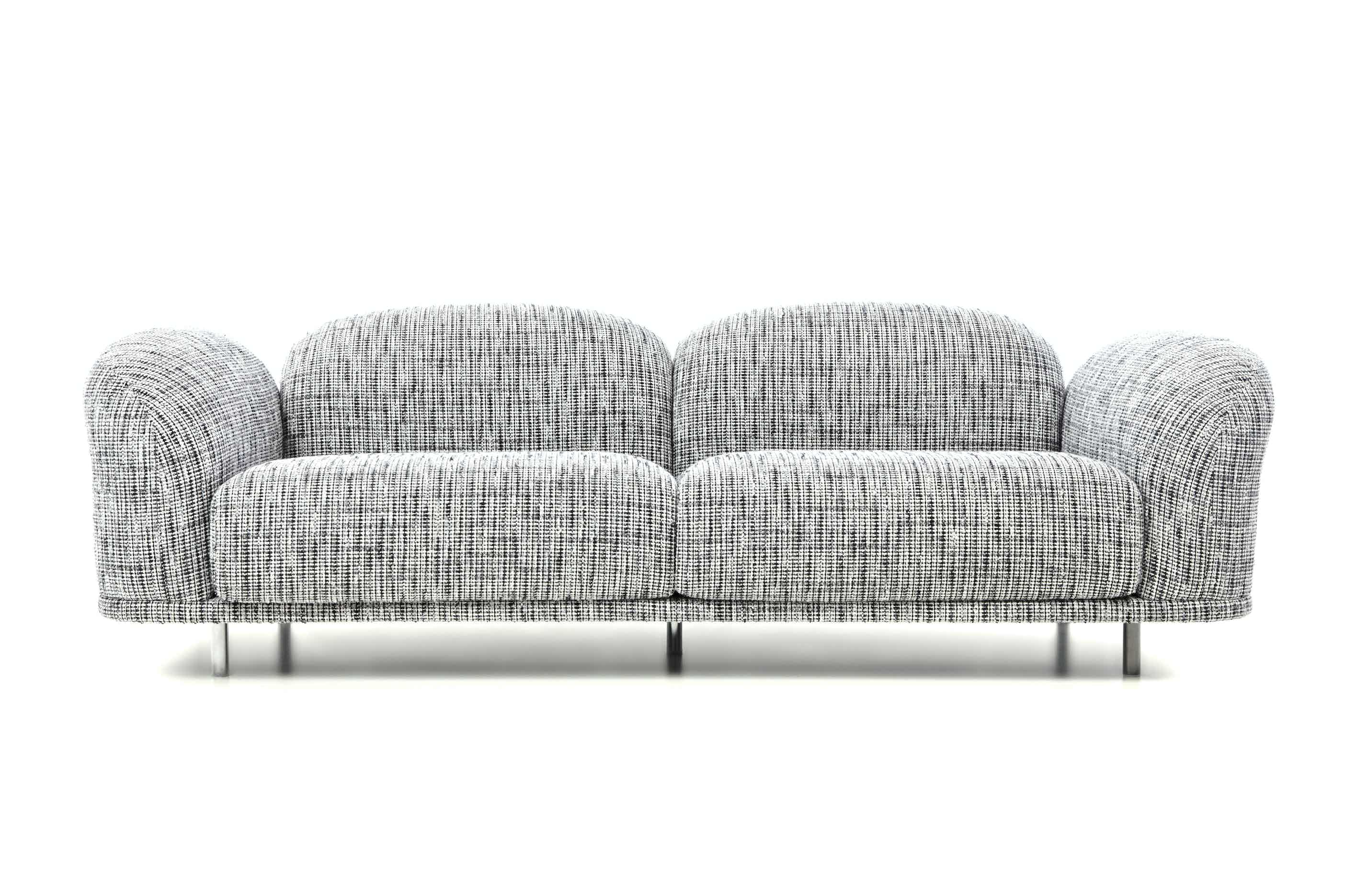 Moooi cloud sofa boucle haute living