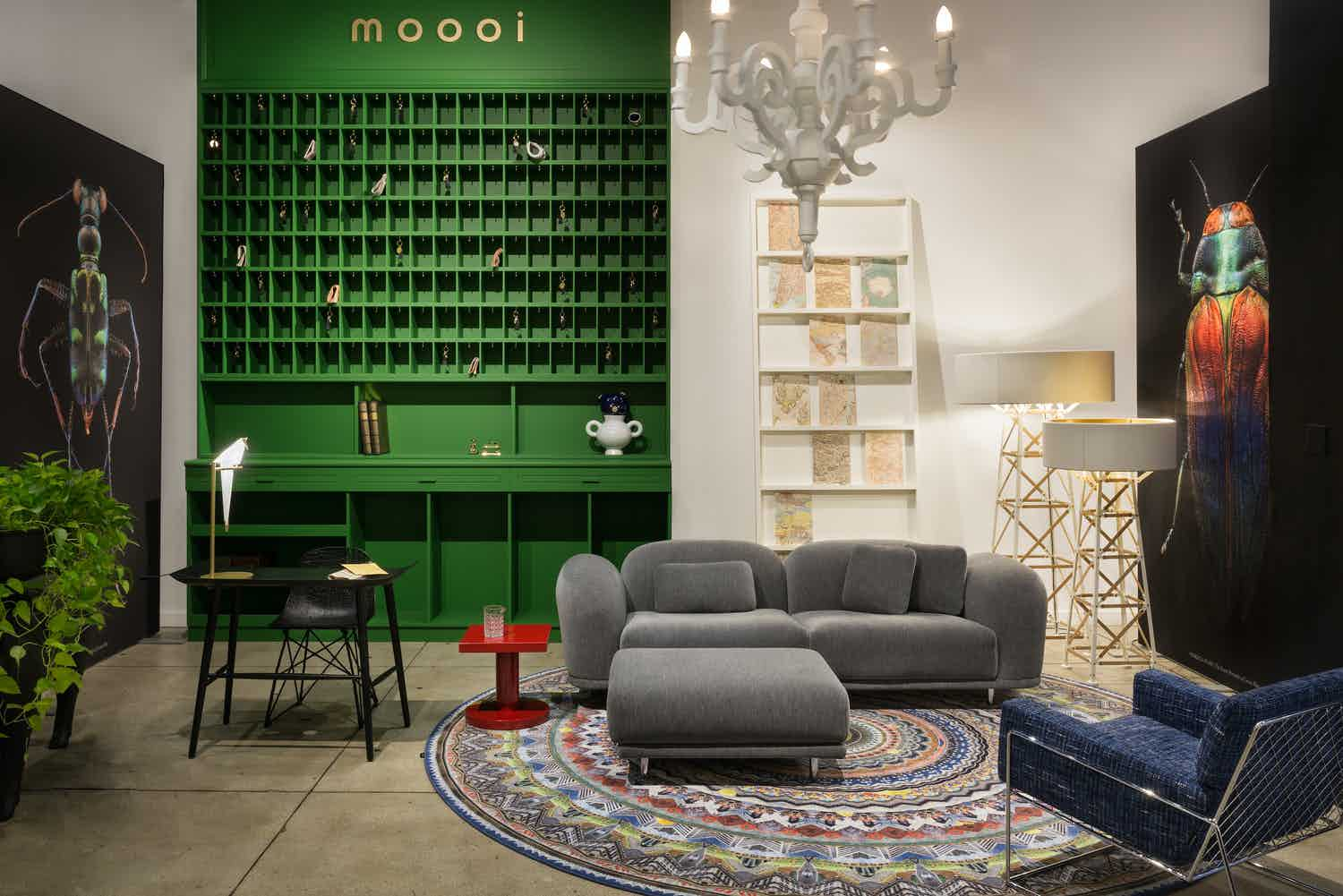 Moooi cloud sofa grey insitu haute living