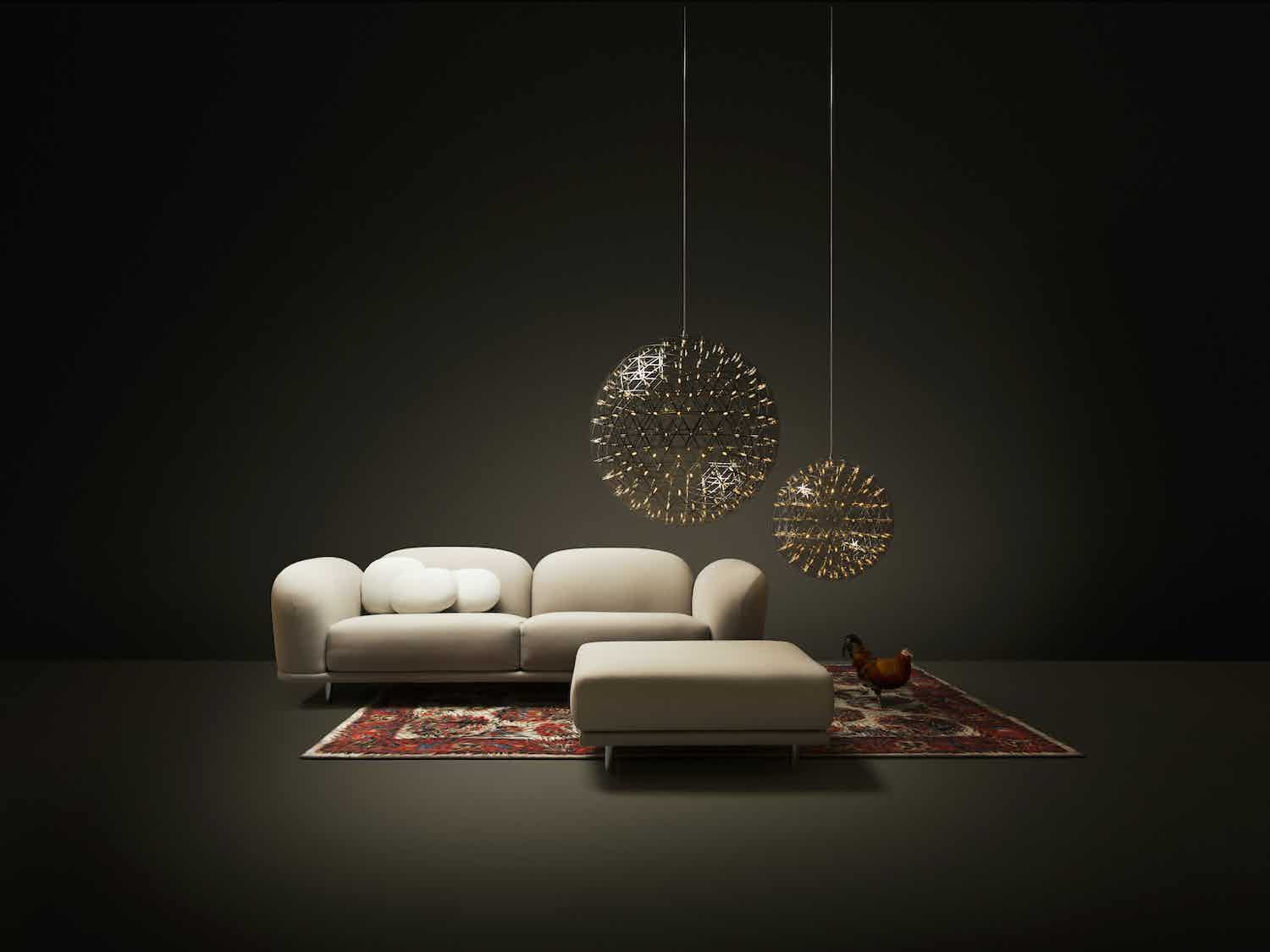 Moooi cloud sofa insitu haute living
