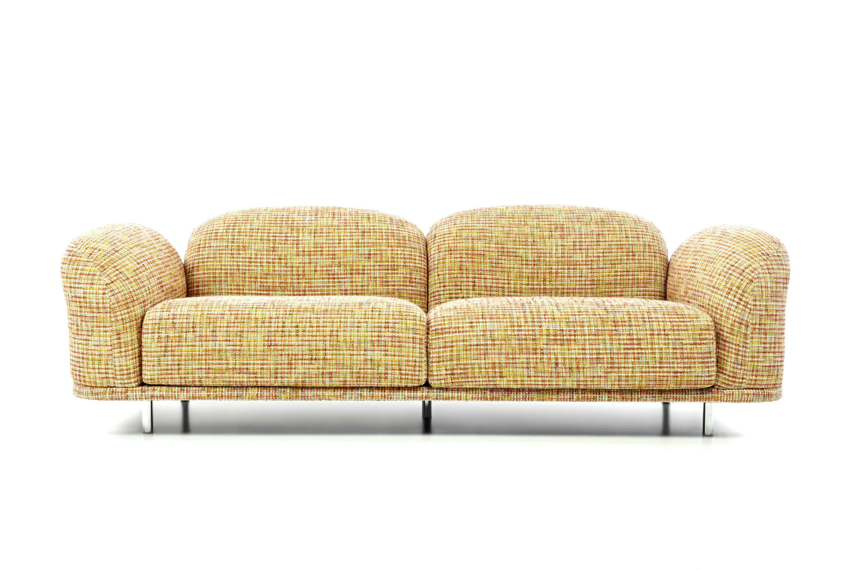 Moooi cloud sofa multi boucle haute living