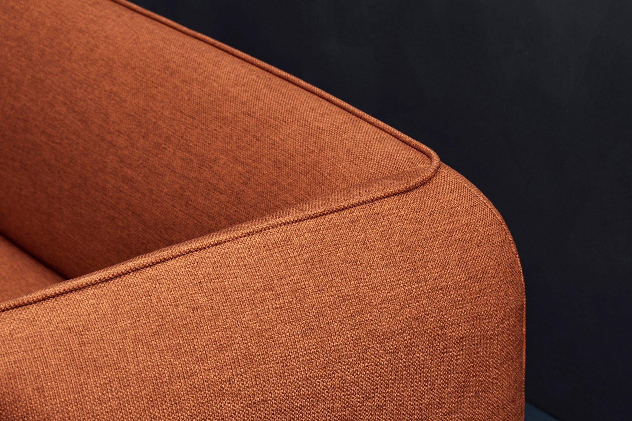 Bolia Orange Cloud Sofa Detail Haute Living