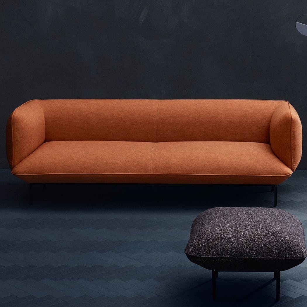 Bolia Orange Cloud Sofa Insitu Haute Living