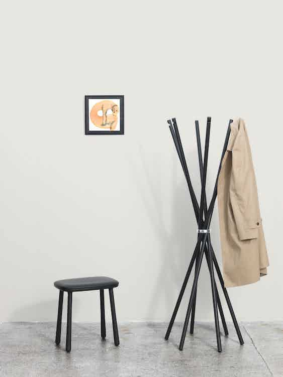 Mobel copenhagen coat rack insitu haute living