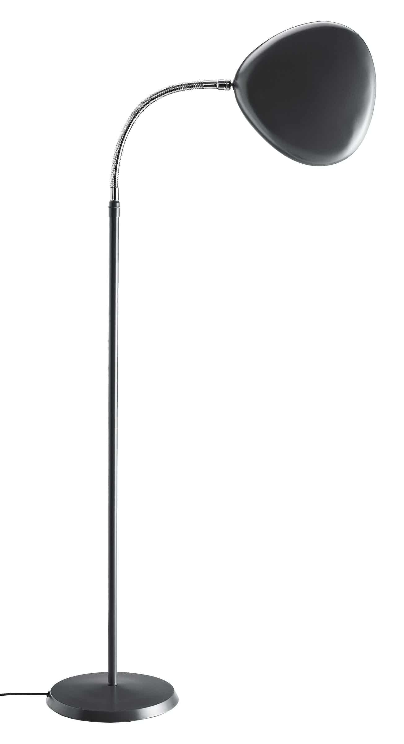 Gubi Cobra Floor Lamp Anthracite Grey Thumb Side Haute Living