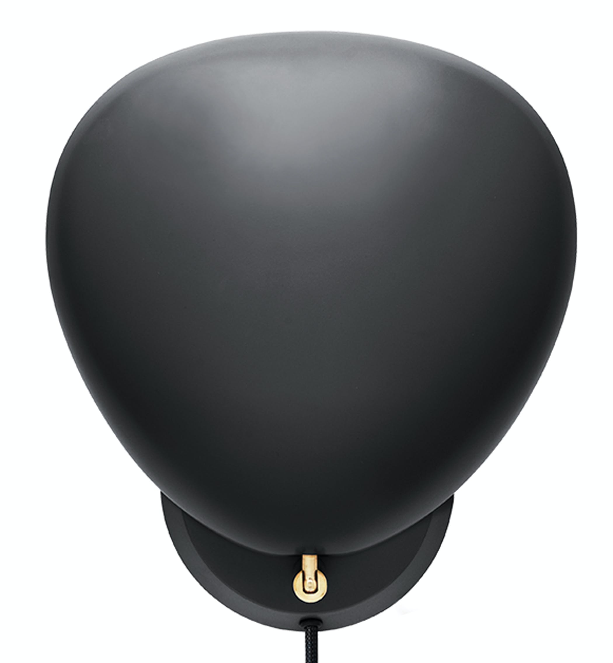 Cobra Wall Lamp Jetblack Front Product