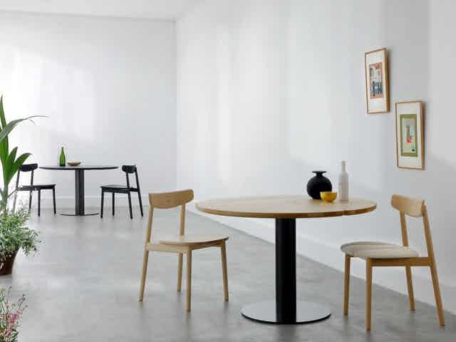 Coedition klee dining table insitu duo haute living