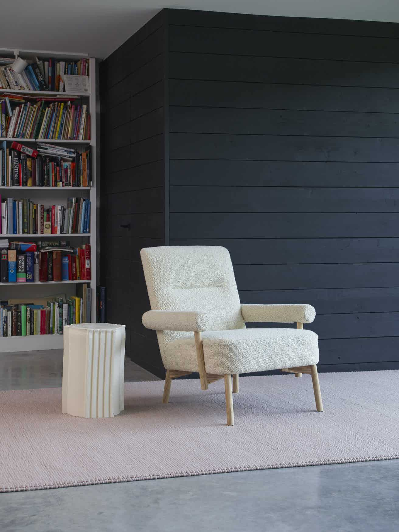 Scp furniture colemore armchair angle haute living