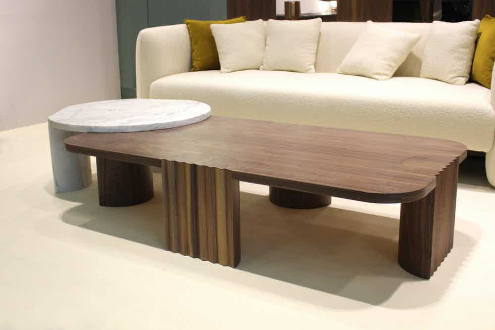 Collector furniture caravel low table insitu haute living