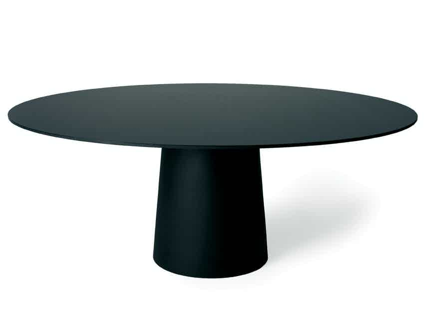 Moooi container table 7056 black haute living