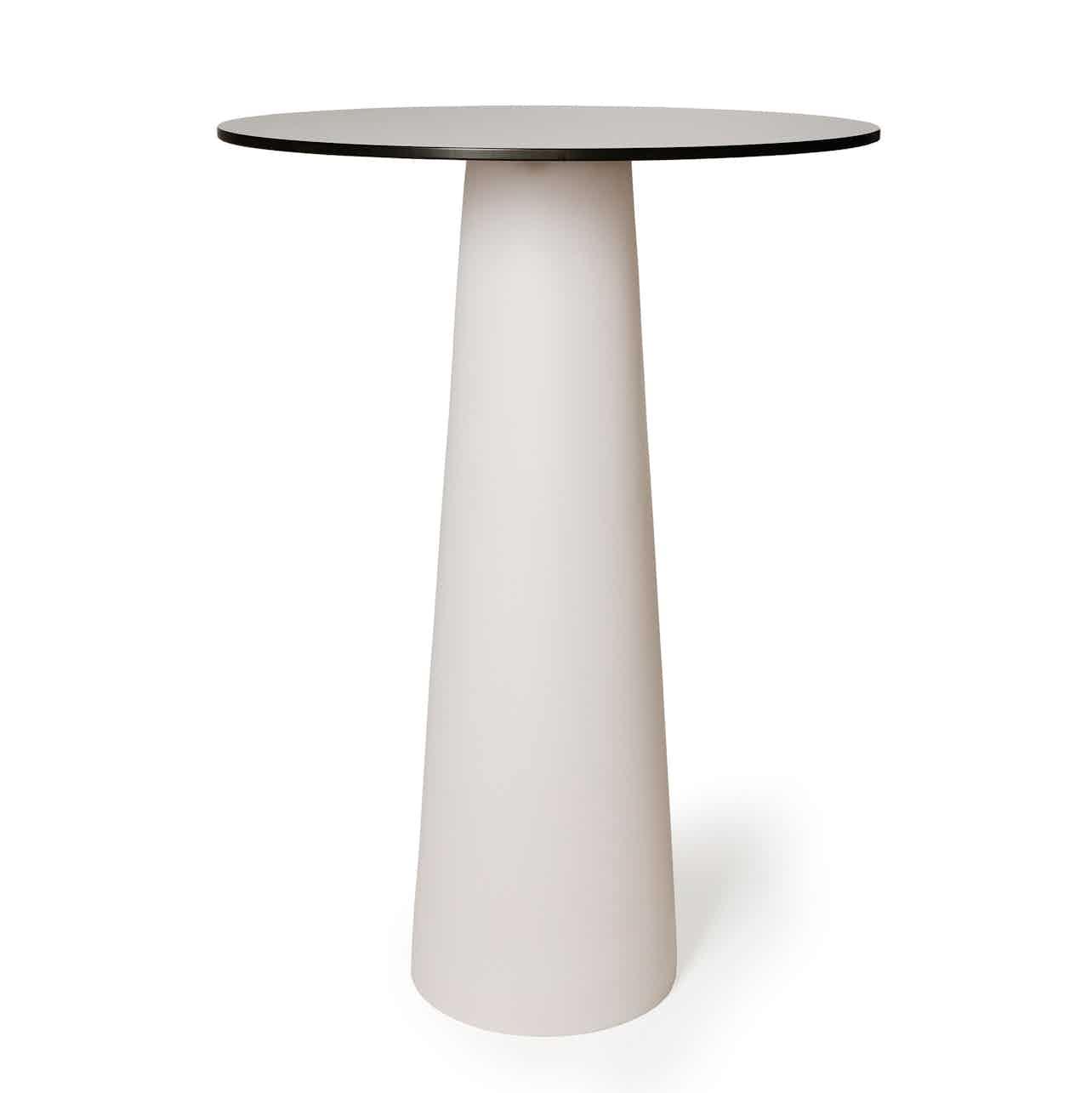 Moooi container table white bar haute living
