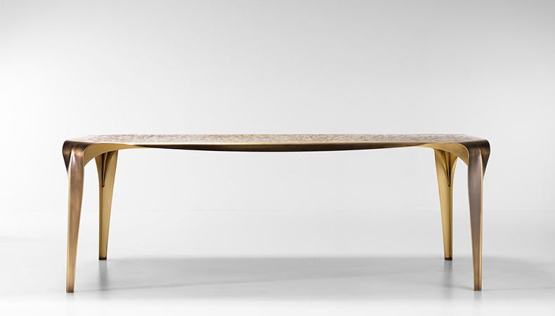 De Castelli Convivium Table Front Haute Living